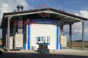 Capannone - Aeroporto Aeronautica Militare - Brindisi